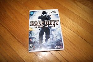 Nintendo Wii game - Call of Duty - World at War