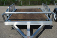 Aluminum 4X8 ATV Trailer! Aluminum Ramps For Unloading Atv