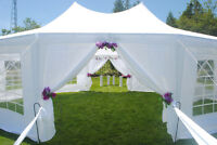 Wedding Party Tent Rental (29 x 21 ft) Beautiful Arabian Style