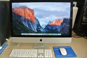 "Apple iMAC 27"" 2013 = 20% off, Today special!!"