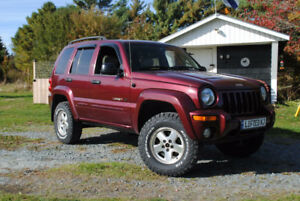 Lifted 2003 Jeep Liberty Limited Edition