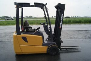 forklift,chariot elevateur,3wheels,electric,jungheinrich