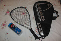 Raquette racketball Head Ti.175 XL