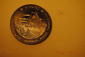 Medaille Winnipeg Ottawa Royal Canadian Mint Monnaie Royale Cana