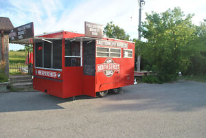 Southern BBQ Food Concession Trailer/Truck + Smoker & Trailer.
