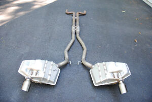 GM OME Performance exhaust for 2011 Camaro LS3