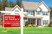 Montreal and Laval Foreclosure Hot Deals!