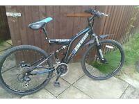 """Boss stealth mountain bike 26"""" wheels"""
