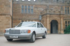 Classic Mercedes Wedding Car