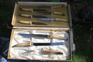 Crown Sheffield Stainless Antlered Knives