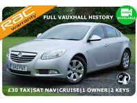 2012 Vauxhall Insignia 2.0CDTi SRi 16v ecoFLEX SAT NAV|Full Vauxhall History