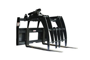 Jenkins HEAVY DUTY Pallet Forks Grapple Skidsteer Attachment Comox / Courtenay / Cumberland Comox Valley Area image 3