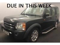 2005 LAND ROVER DISCOVERY 3 SE 2.7 TDV6 MANUAL 4X4 7 SEATER TURBO DIESEL