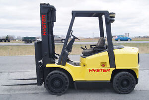 FORKLIFT,CHARIOT ELEVATEUR,DIESEL,PNEUMATIC,S/S,HYSTER H80XL