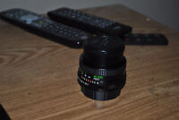 Vivitar 1:2.0 28mm Macro Close-Focus Lens