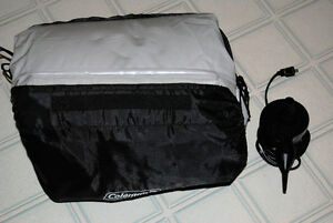 Double High Queen Air Mattress - used three times.