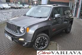 2016 Jeep Renegade M-JET TRAILHAWK**BIG SPEC**BRAND NEW** Diesel grey Automatic