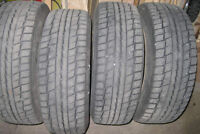 DUNLOP 195/65-R15 GRASPIC DS-2 winter tires on rims