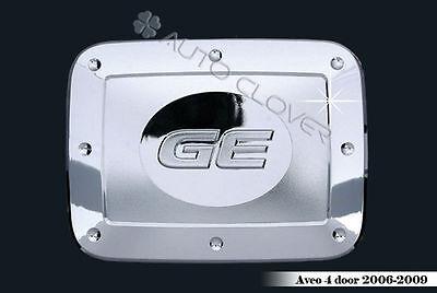 Chrome Fuel Gas Cap Cover For 11 12 Chevy Aveo 5d