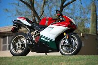 Mint condition Ducati 1098S TRI Colore for sale