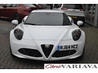 2014 Alfa Romeo 4C TBI Petrol white Semi Auto