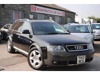 2001 Audi Allroad 2.7 T Quattro 5 Door Estate Black Automatic Petrol