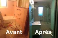 Homme a tout faire ,handyman, entrepreneur en rénovation