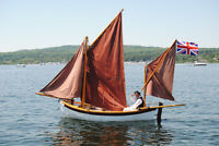 One of a Kind Historical Gunboat Reproduction