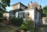 Historical Old Port Credit House for Rent.