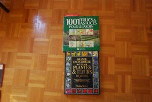 Divers Livres pour le jardinage