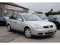 2004 Vauxhall Vectra DualFuel 1.8 Petrol + LPG Manual 5 Door Hatchback Silver