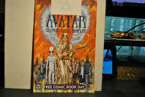 FCBD Avatar Graphic Novel Sampler