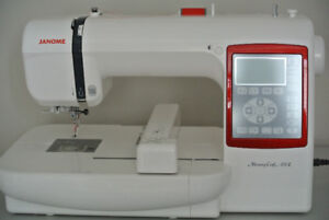 BRAND NEW JANOME EMBROIDERY MACHINE WITH BOX