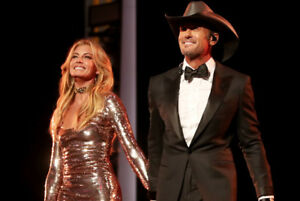 Tim McGraw & Faith Hill- 7TH ROW CENTRE FLOORS- Hamilton-June 18
