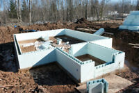 ICF ( Insulated concrete forms) FOUNDATION CONTRACTOR