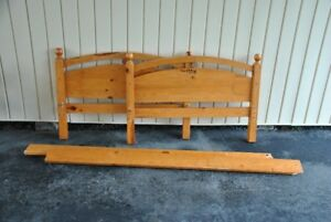 JR. SIZE WOOD BEDFRAME