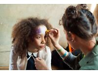Events Artist available 2017 - Face painter, body painter, illustrator