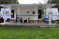 37' 2 bedroom trailer at Family Paradise Campground