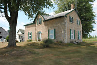 LOVINGLY RESTORED 1800s STONE HOME ON OVER 80 ACRES