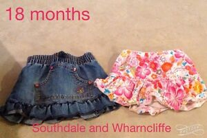 18 month girl clothing