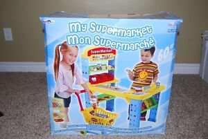 Play Supermarket with cash register