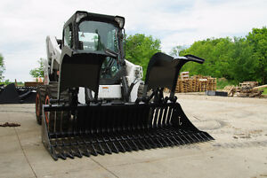 Jenkins HEAVY DUTY Skeleton Rock Grapple Skidsteer Attachment Belleville Belleville Area image 2