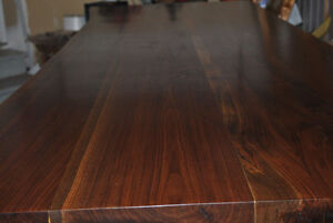 LIVE EDGE BLACK WALNUT DINING TABLE Stratford Kitchener Area image 4