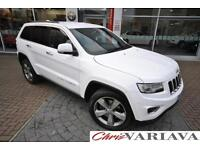 2014 Jeep Grand Cherokee V6 CRD LIMITED PLUS ** TOW BAR FITTED ** Diesel white A