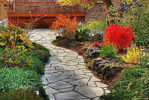 flagstone, river rock, armour stone, mulch, top soil, gravel