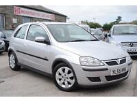 2005 Vauxhall Corsa 1.2 SXI Silver 3 Door Hatchback Manual Petrol