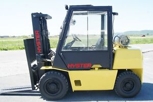 FORKLIFT,PNEUMATIC,SIDESHIFT, HYSTER H80XL