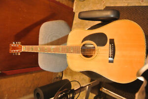 Acoustic Guitar Marquis Harmony 1970's