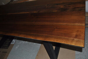 LIVE EDGE BLACK WALNUT DINING TABLE Stratford Kitchener Area image 3