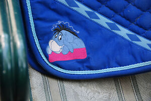 EEYORE SADDLE PAD, ENGLISH, EUC